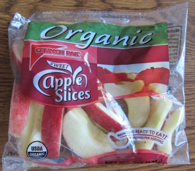 Organic Sliced Apples