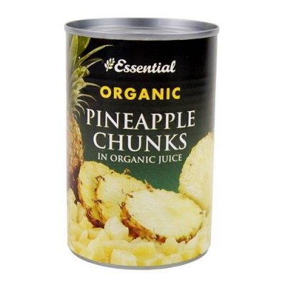 Pineapple Chunks, Organic, In Organic Pineapple Juice