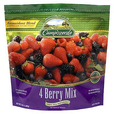 Signature Blends,Wildly Nutritious Mixed Berries W/Pomegranate Antioxidant Blend
