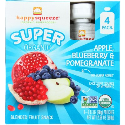 Super Organic Apple, Blueberry And Pomegranate