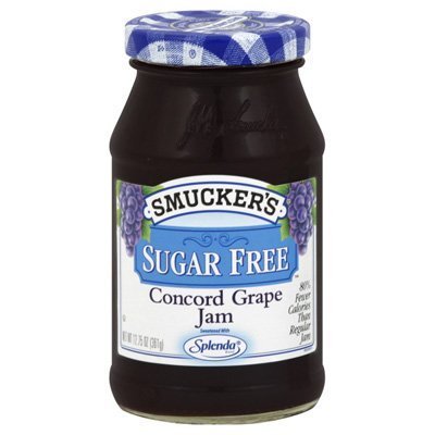 Smuckers Grape Jelly Packets-Sugar Free