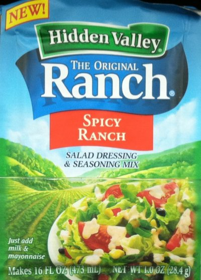 Spicy Ranch Salad Dressing