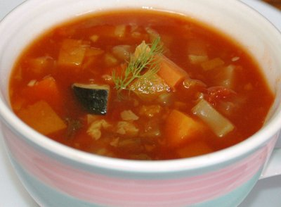 Beef Vegetable Soup (cup)