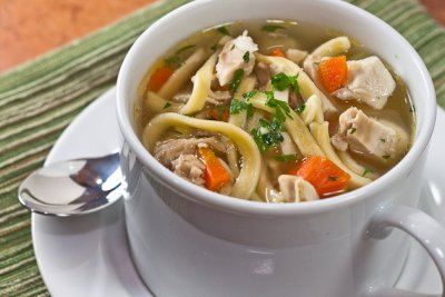 Homestyle Chicken Noodle Soup Bowl
