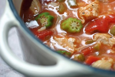 Chicken Gumbo Soup, Bowl