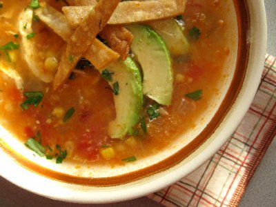 Chicken Tortilla Soup, Bowl