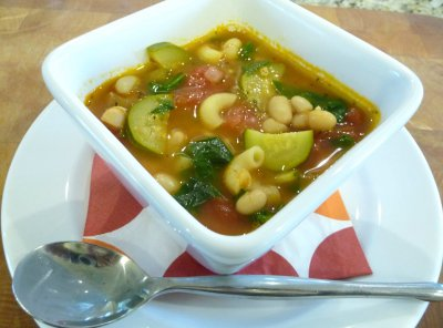 Minestrone Soup, Bowl