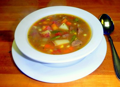 Vegetable Beef Soup, Bowl