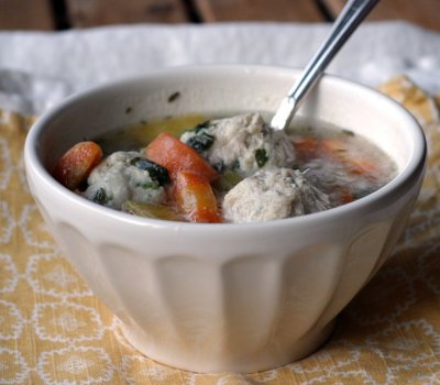 Chicken and Dumpling Soup, Bowl