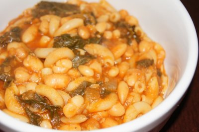 Tuscan White Bean & Kale Soup, Bowl