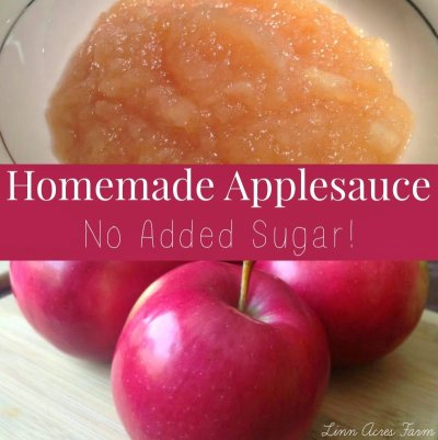 First Crush: Gravenstein Applesauce (No Added Sugar)