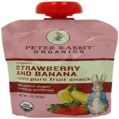 Organic Strawberry And Banana Pure Fruit Snack