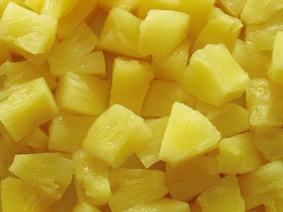 Pineapple, Chunks