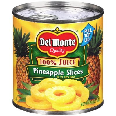 Pineapple Slices, in its Own Juice