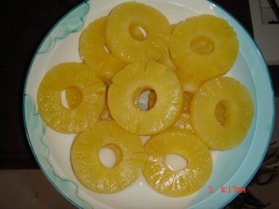 Pineapple Slices, In Pineapple Juice