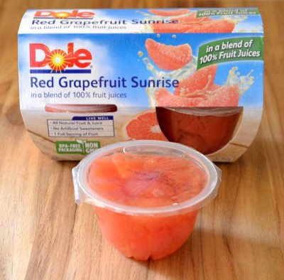 Red Grapefruit Sunrise In A Blend Of 100% Fruit Juices