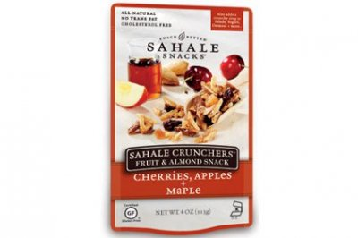 Sahale Crunchers Fruit & Almond Snack, Cherries, Apples + Maple