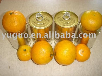 Whole Peeled Mandarin Orange Segments In Light Syrup