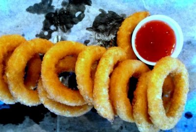 Onion Rings, choose any 3