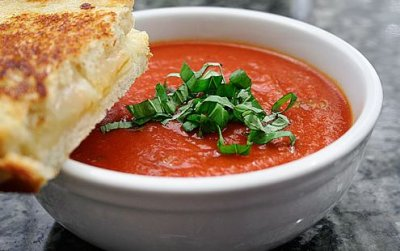 Soup Fire Roasted Tomato Basil (cup)