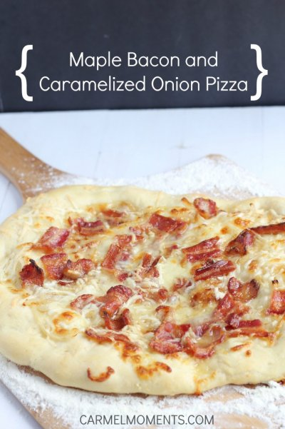 Bacon and Caramelized Onion Flatbread