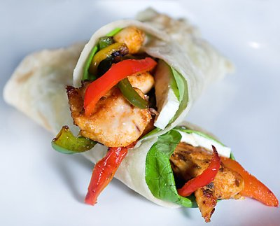 Lettuce Wraps with Chicken & Shrimp