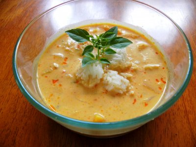 Thai Curry Soup, Regular