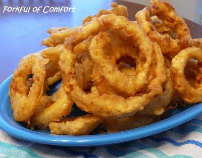 Tempura Onion Rings Calories