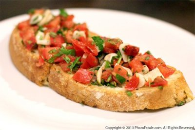 Garlic Tomato Bread