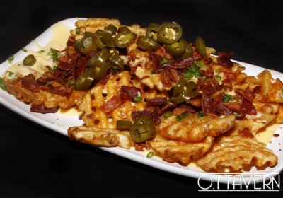 Loaded Waffle Fries, choose any 3