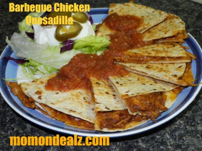 Grilled Chicken & Sausage Quesadilla