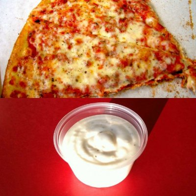 Add Ranch Dressing to Large Pizza