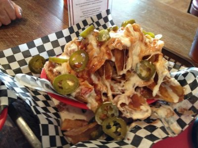 BBQ Nachos, Georgia Pork-Large