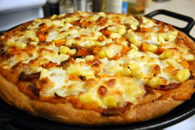 Hawaiian Pizza, Small, 1 Slice