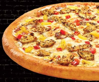 California Chicken (THIN CRUST: LARGE PIZZA)