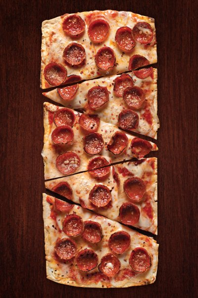 Pepperoni (THIN CRUST: MEDIUM PIZZA BUFFETT)