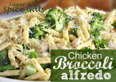 Chicken Broccoli Alfredo (SKILLET CRUST: MEDIUM PIZZA BUFFETT)