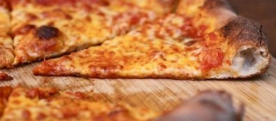 Three Cheese Pizza, Large, Thin Crust, 1 Slice