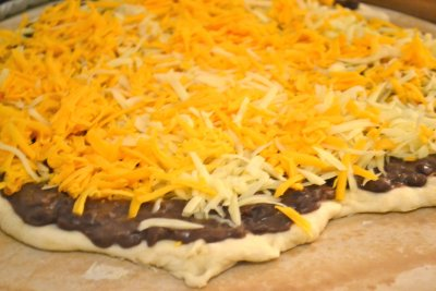 Taco Pizza, Large, 1 Slice
