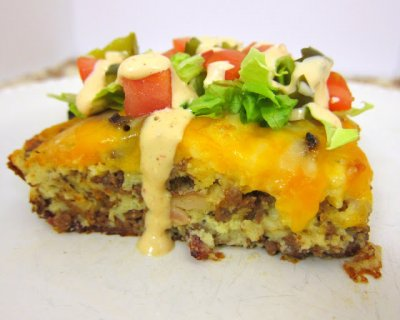 Bacon Cheeseburger (SKILLET CRUST: MEDIUM PIZZAS CARRY-OUT/DELIVERY)