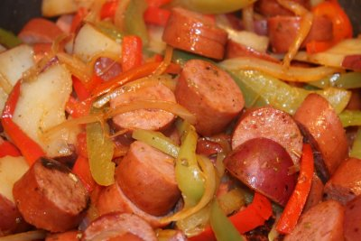 Sausage, Peppers, Onions (SKILLET CRUST: MEDIUM PIZZAS CARRY-OUT/DELIVERY)