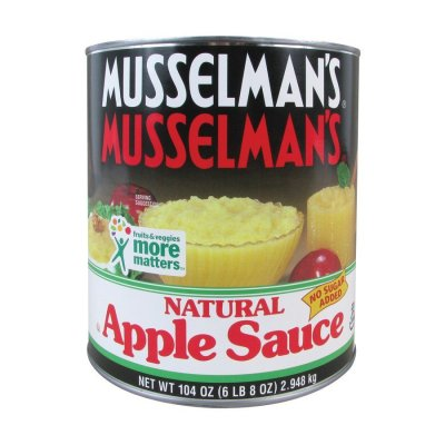 Apple Sauce,Natural Unsweetened