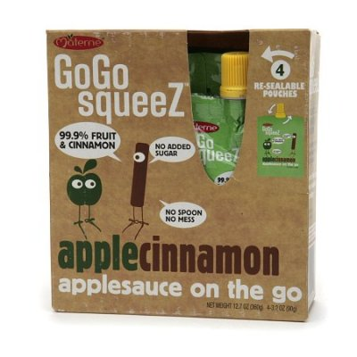 Applesauce On the Go, Apple Cinnamon