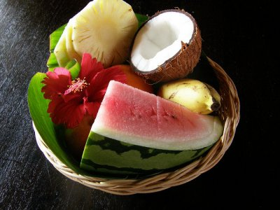 Fruit Bowls, Tropical Fruit
