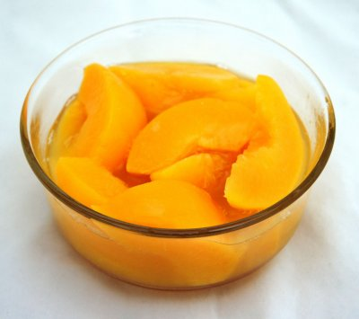 Peaches, Sliced Yellow Cling in Pear Juice