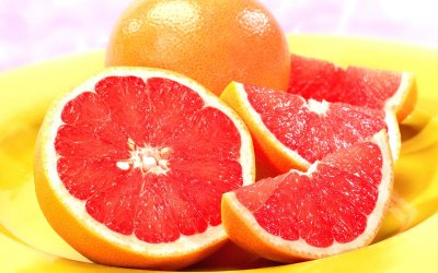 Red Grapefruit in Fruit Juice