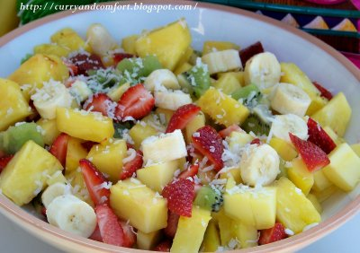 Tropical Fruit Salad, 100% Juice