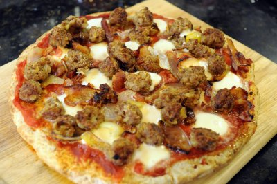 Meaty Max Pizza, Small