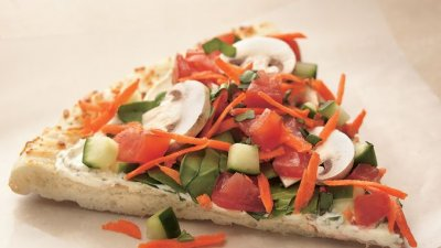 Garden Tomato Herb Pizza, Large, Thin Crust