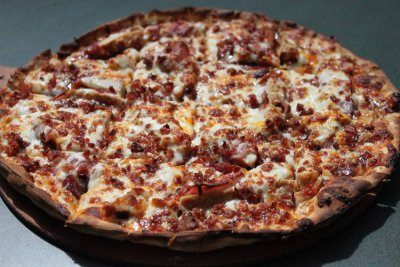 BBQ Chicken Pizza, Large, Thin Crust